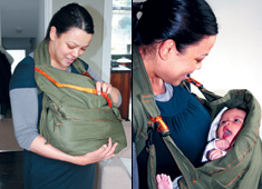 Baby Carrier That Provides Privacy And Support