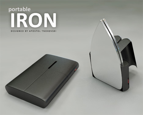 Portable Iron by Apostol Tnokovski