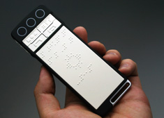 Touchphone For The Blind