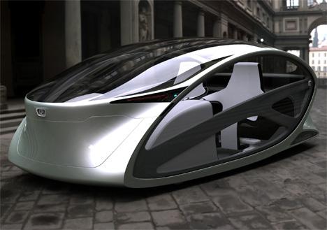 Peugeot Metromorph Concept Car by Roman Mistiuk