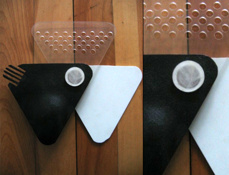 Implement Six Cheesegrater Fork and Spoon by Scott Graham