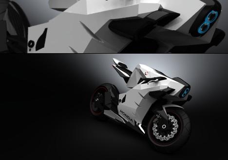 2015 Honda CB750 Motorcycle Concept by Igor Chak