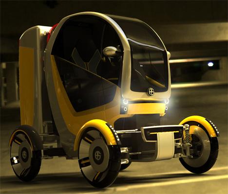 CarGo Concept Cargo Truck by Adam Schacter