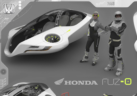 Honda Fuzo Concept Car by John Mahieddine