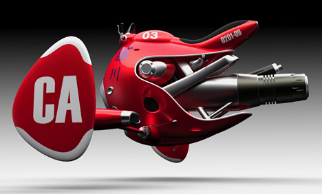 Jet Powered Bike by Norio Fujikawa