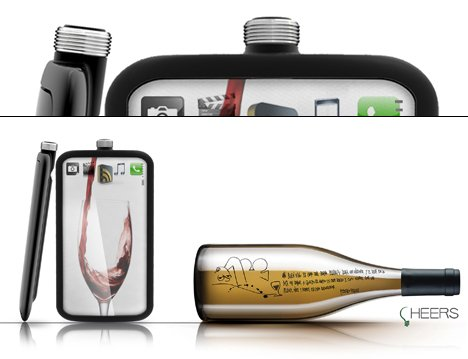 Cheers Alcohol Cell Mobile Device by Tryi Yeh 02