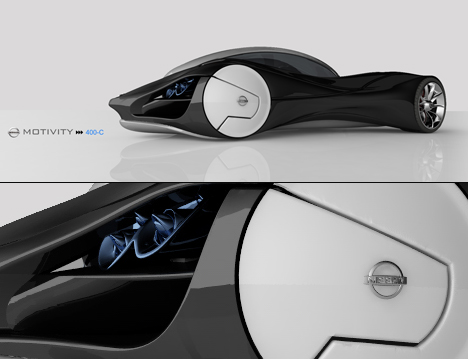 Nissan Motivity 400C Maglev Vehicle by Tryi Yeh 06