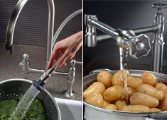 Retro Pipes For The Kitchen Sink