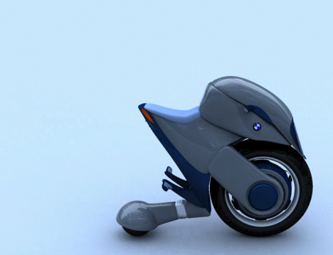 Future Duo-Wheel Transport BMW Halbo Pierre Yohanes Lubis 01