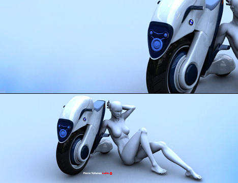 Future Duo-Wheel Transport BMW Halbo Pierre Yohanes Lubis 05