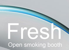 Smokers Rejoice! Open Smoking Booth