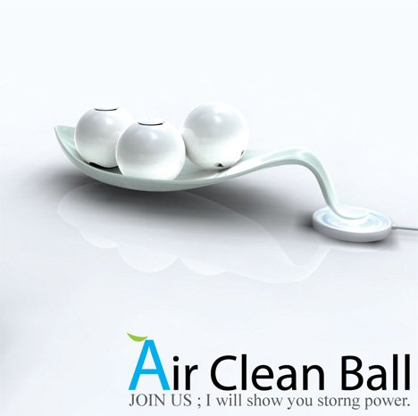 Balls Clean My Air, Seriously!