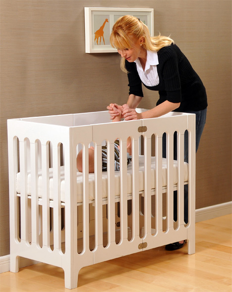 Alma Urban Cot / Crib by Bloombaby
