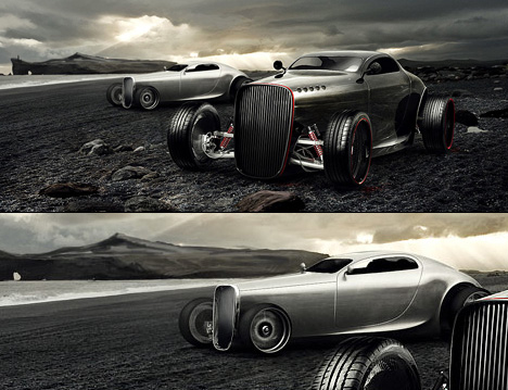 Gentleman's Racer by Mikael Lugnegard of Legnegard Design 01