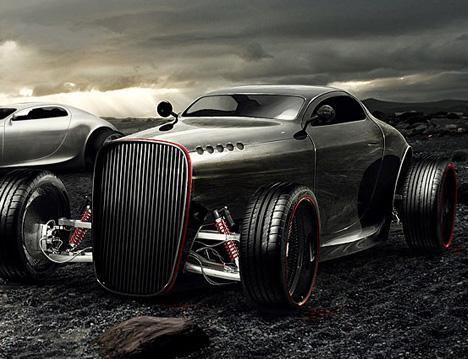 Gentleman's Racer by Mikael Lugnegard of Legnegard Design 02