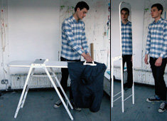 Reflecting Ironing Board