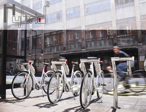 Hybrid Public Bike Concept by Chiyu Chen 01