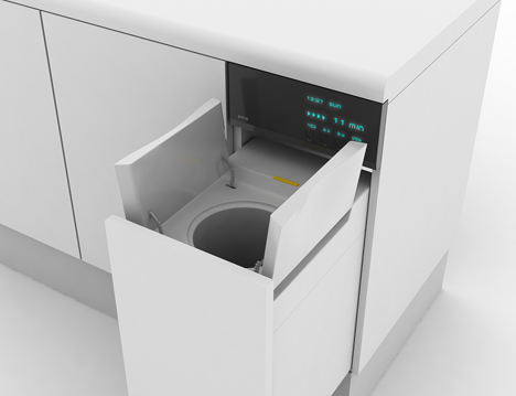 FOODOO Food Waste Dispenser by Jeong Min Kim 03
