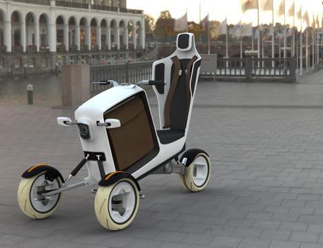 Stem Short-Distance Solar Powered Vehicle System by Tobias Bexten 06