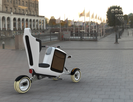 Stem Short-Distance Solar Powered Vehicle System by Tobias Bexten 09