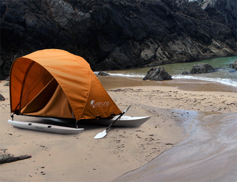 Kahuna Adventure Tent Kayak by Mario Weiss