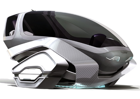 Speedway Concept Car by Christian Forg