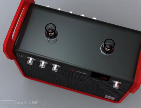 Z.AMP concept Guitar Amp by Aki Hirota 03