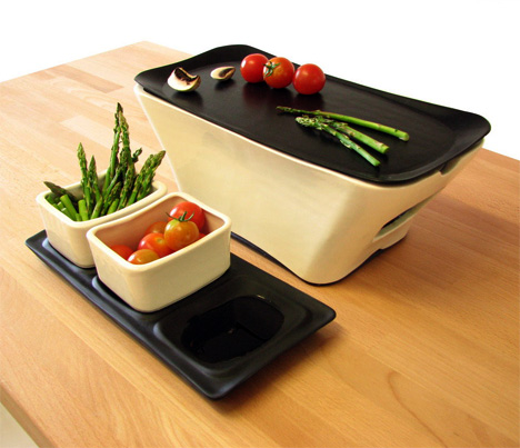 Danté Tabletop Cooking Grill by Idan Arbel