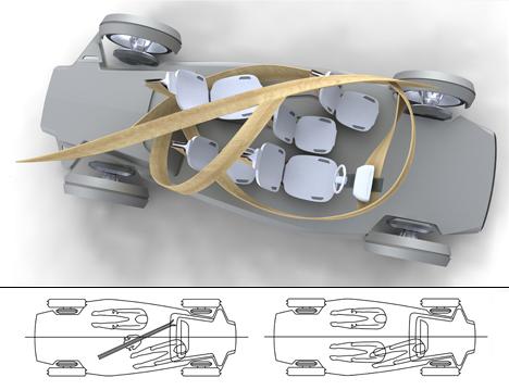 Futuristic Plywood and Resin Vehicle by Jonathon Henshall 05