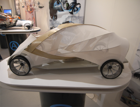 Futuristic Plywood and Resin Vehicle by Jonathon Henshall 06