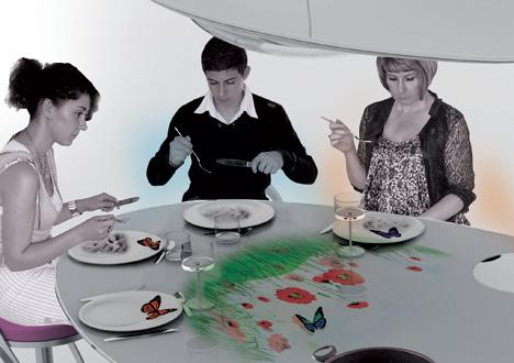 Oniris Futuristic Kitchen Concept by Nelly De Macedo 2