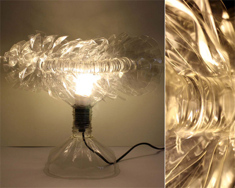 Recycled Plastic PET Bottle Lights by Lisa Foo & Su Sim 2