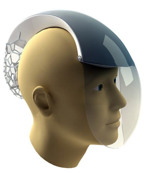 CAIR Air Helmet by Herald Tremmel, Szilveszter Buzasi & Milica Balubdzic