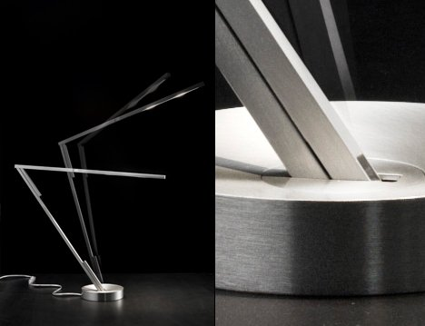 Magnetita Magnetic Desk Lamp by Denis Santachiara at Studio Italia Design 03