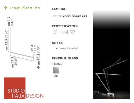 Magnetita Magnetic Desk Lamp by Denis Santachiara at Studio Italia Design 04