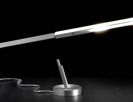 Magnetita Magnetic Desk Lamp by Denis Santachiara at Studio Italia Design 05