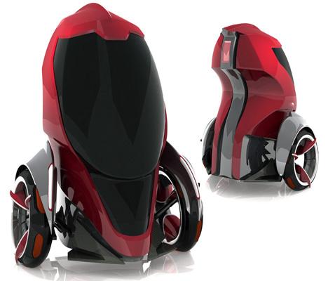 Metro Cell Vehicle Concept by Eric Seung Hun Beak