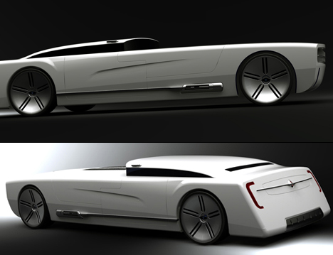 Future American Icon Car Nebula by Colin Pan 01