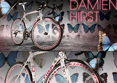 Stages Trek Bikes for Tour de France by Damien Hirst Marc Newson and Yoshitomo Nara 02