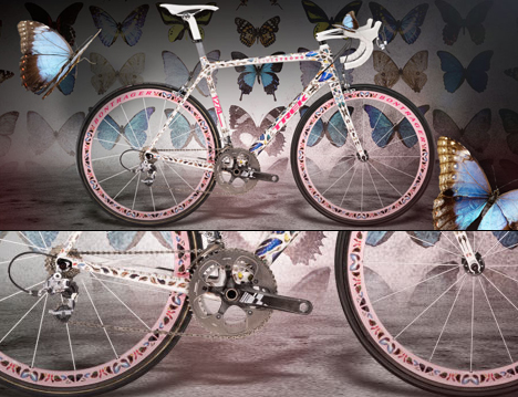 Stages Trek Bikes for Tour de France by Damien Hirst Marc Newson and Yoshitomo Nara 03