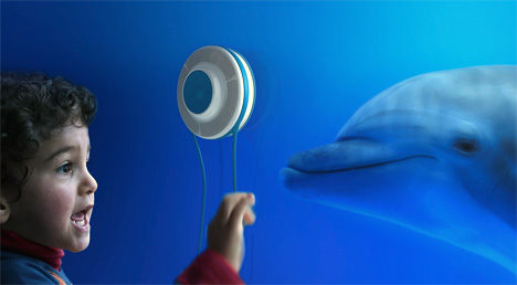 HARK Acoustic Transmitter Concept For Aquariums by Cenk Aytekin