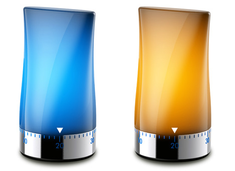 Timer To Light Concept Lamp by Jasper Hou 3