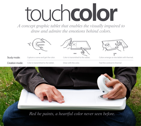 Description and drawings of Touch Color