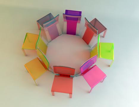 2in1 Chair by Henrich Zrubec 03