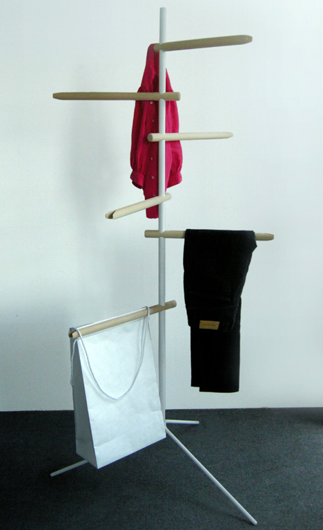 Clothes Storage Hanger by Therese Glimskar