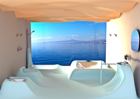 Wavflow Bathroom Concept By Wei Chung Lee