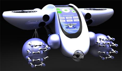Electrolux Butl-R-Bot, Robotic Kitchen Assistant by Tim Leeding
