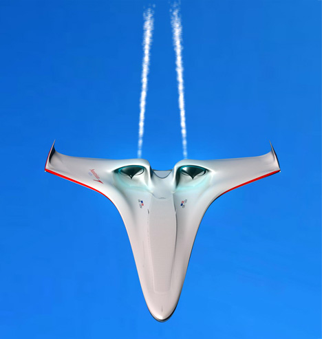 MagLevAir Airplane Concept by Leonie Lawniczak, Deniz Örs & Georg Milde