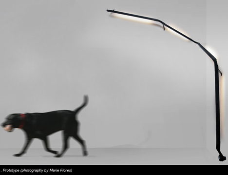 Climbing Lamp by Trust In Design
