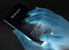 Tactile Flash Cards for the Blind
